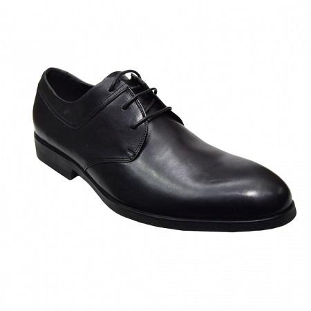 Men formal shoes black