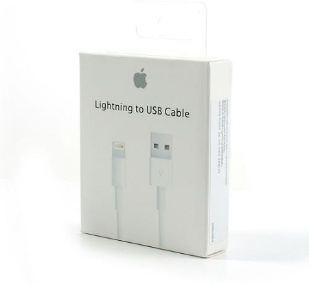 Apple MD819AM/A Original 1 Meter Lightning to USB Cable - White