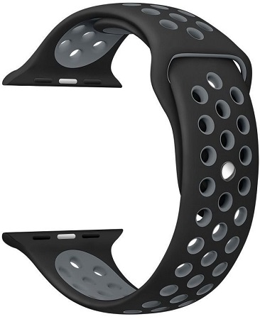 Apple Watch,Soft Silicone Strap Replacement Wristbands 42mm