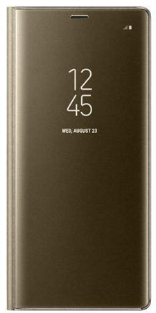 Samsung Galaxy Note 8 Clear View Cover - Gold
