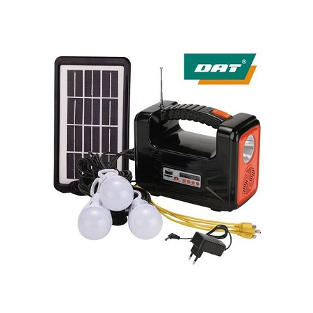 Dat Home Solar Light DAT Light With Radio And USB