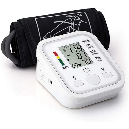 Jziki Blood Pressure Monitor Automatic Digital Upper Arm BP Cuff