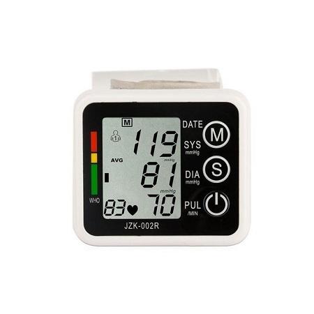 Digital Wrist Blood Pressure Monitor Cuff Check Machine Portable Clinical Automatic - White