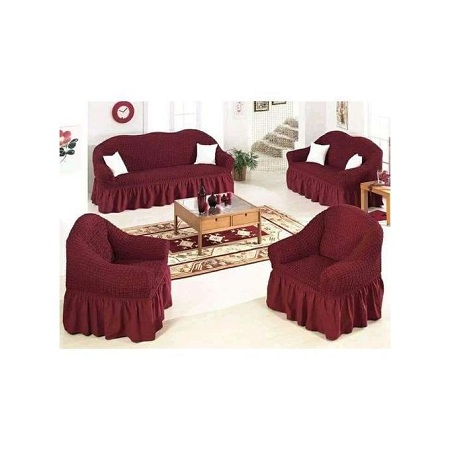 Stretchable Sofa Seat Covers seven seater- 3+2+1+1 (7 seater)