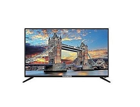 Nasco 40 inches Digital HD LED TV - Black