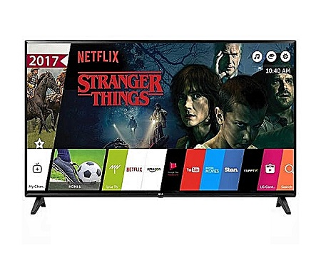 Vision Plus 43 inch FHD Smart Android LED TV - Black