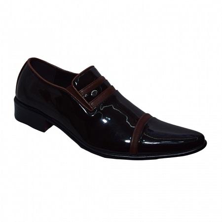Men formal shoes brown