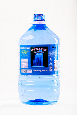 Wetlands Spring Drinking Water 5 Litres- 4 Pack