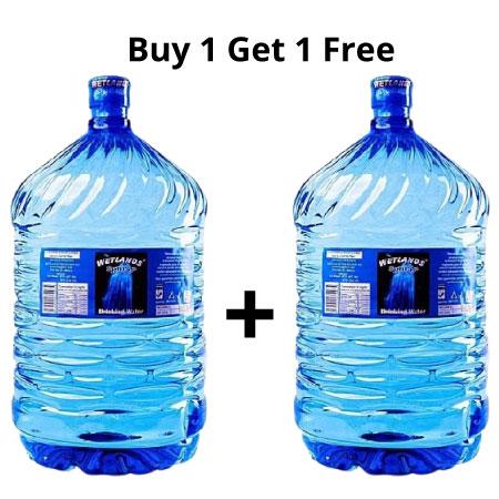 Wetlands Spring Drinking Water 18.5 Litres BUY 1 GET 1 FREE