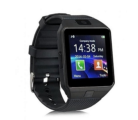 DZ09 Smart Watch For Android And Apple with Camera - Black