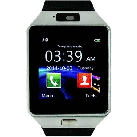 DZ09 Smart Watch For Android And Apple with Camera - Silver