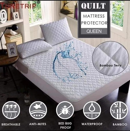 Mattress Protector-white