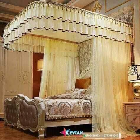 Two Stand Mosquito Net-Cream