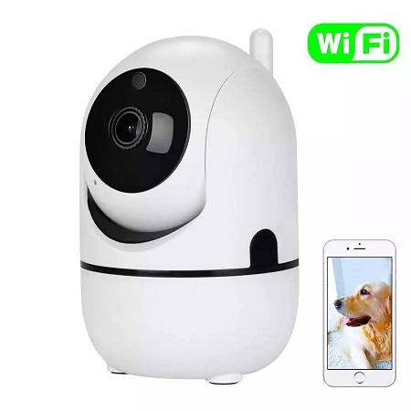 Nanny Camera - HD - Phone monitoring - Rotatable - White