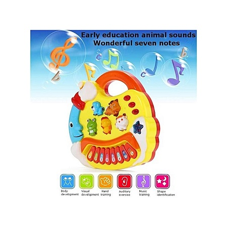 Kids Musical Educational Animal Farm Piano Developmental Music Toy Gift