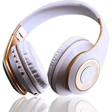 Bluetooth Headphones Wireless Stereo/MP3/Headset - White