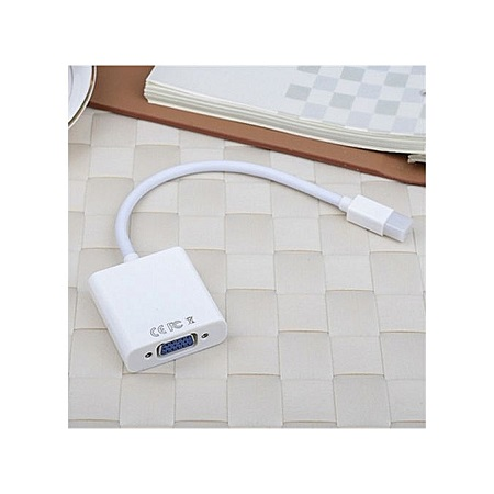 Mini Display Port To VGA Adapter Cable