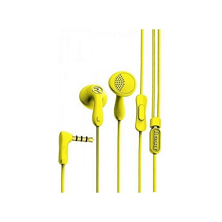 Remax RM-301 Candy Colorful Dynamic Driver HIFI Earphone Headphone BK