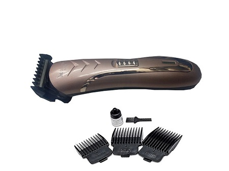Professional Hair Clipper Rechargeable Shaver - Bronze