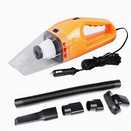 Handheld Car Vacuum Cleaner 120W, 12V Portable Mini Wet/Dry Auto Vehicle Vacuum Dust Buster