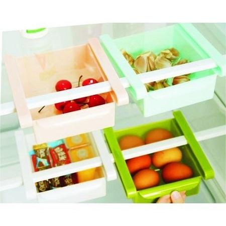 Fridge storage organiser 4pcs set varying one size