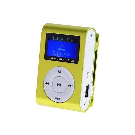 Mini MP3 Player (Green)