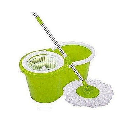 Spin Mop & Bucket Set - Green