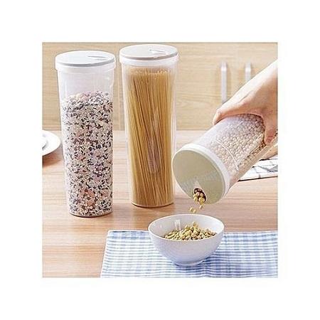 Spaghetti/Cereal Container