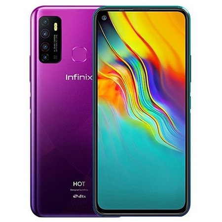 Infinix HOT 9 PLAY, 6.82', 32+2, 6000mAh, 4G,Smart Power Dual Sim, Android 10 - Violet