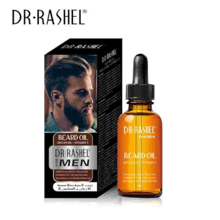 Dr. Rashel Beard Oil With Argan Oil Vitamin E For Men - 50ml