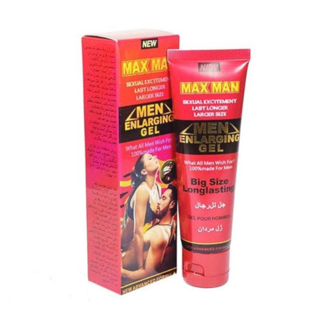 Max Man Men Enlarging Gel Red cream