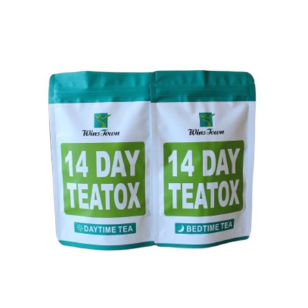 Winstown 14 Day Detox Tea - Daytime Tea & Bedtime Tea Pack