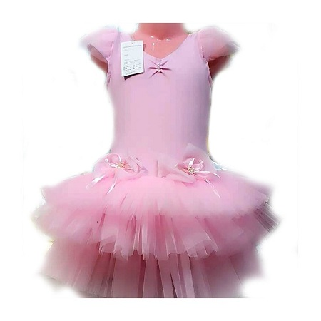 Fashion Girl Elastic Stretchy Tulle Dress