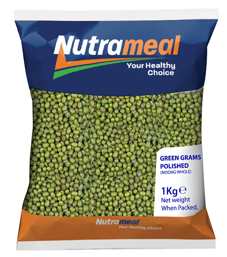 Nutrameal Green Grams Polished 1 kg- 24 pieces