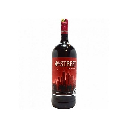 4th Street Natural Sweet Red Wine 1.5LTR