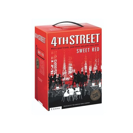 4th Street Sweet Red Wine - 5Ltr
