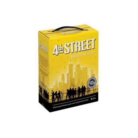 4th Street Sweet White Wine 5 LTR
