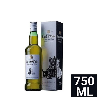 Black & White Scotch Whisky 750ml