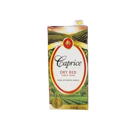 Caprice Dry Red Wine - Tetra Pack - 1LTR