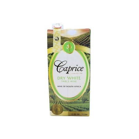 Caprice Dry White Wine - Tetra Pack - 1 LTR