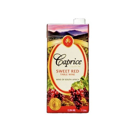Caprice Sweet Red Wine Tetra Pack 1lTR