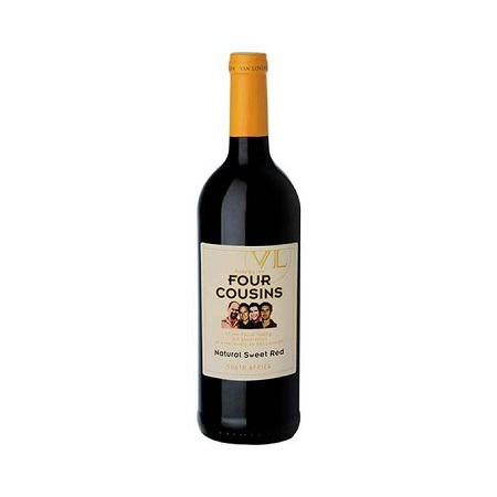 Four Cousins Natural Sweet Red Wine - 1.5LTR