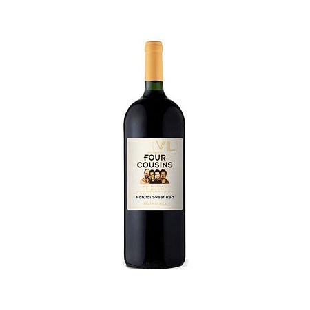 Four Cousins Red Wine - 750 ML...