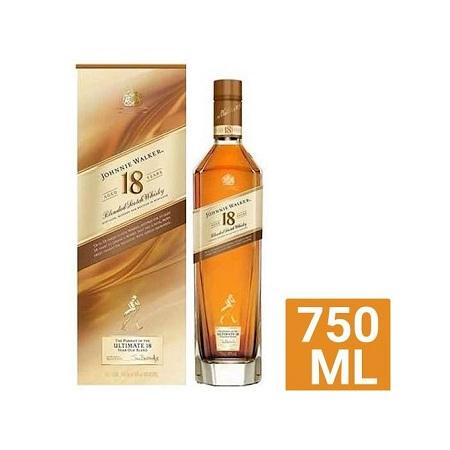 Johnnie Walker Scotch Whiskey Aged 18Years – 750ML