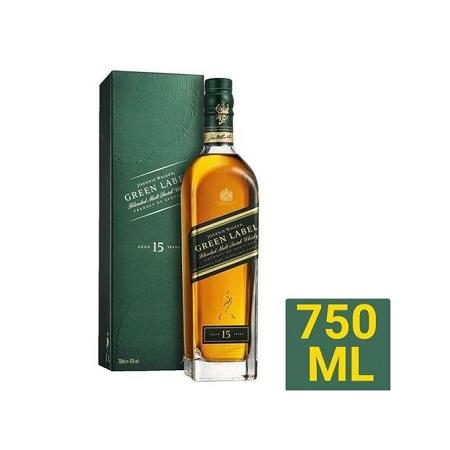Johnnie Walker Green Label Reserve Whiskey - 750ML