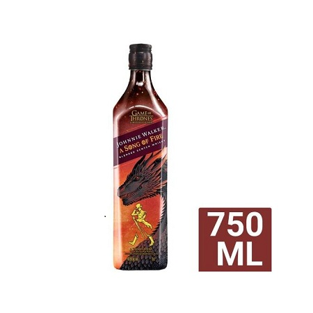 Johnnie Walker A Song Of Fire Blended Scotch Whiskey - 750ML