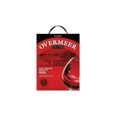 Overmeer Sweet Red Wine 5LTR