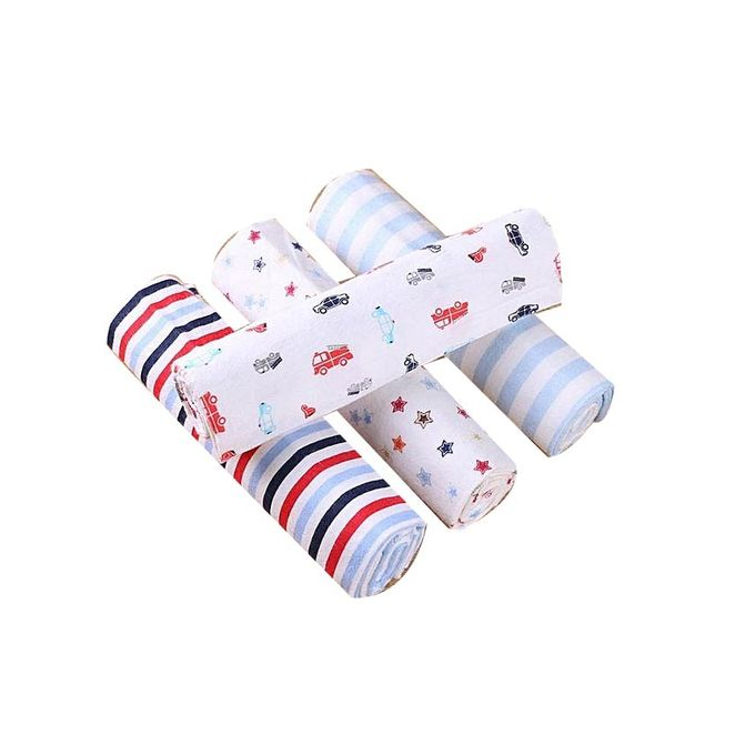 4 In 1 Cotton Flannels / Receiving Blankets