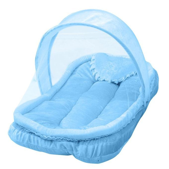 Portable Foldable Baby Nest Crib Mosquito Net Bed Lining