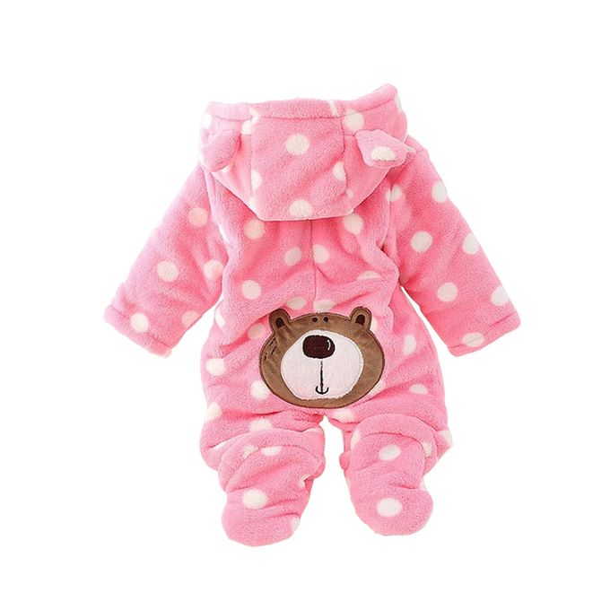 Warm Baby Rompers - Pink